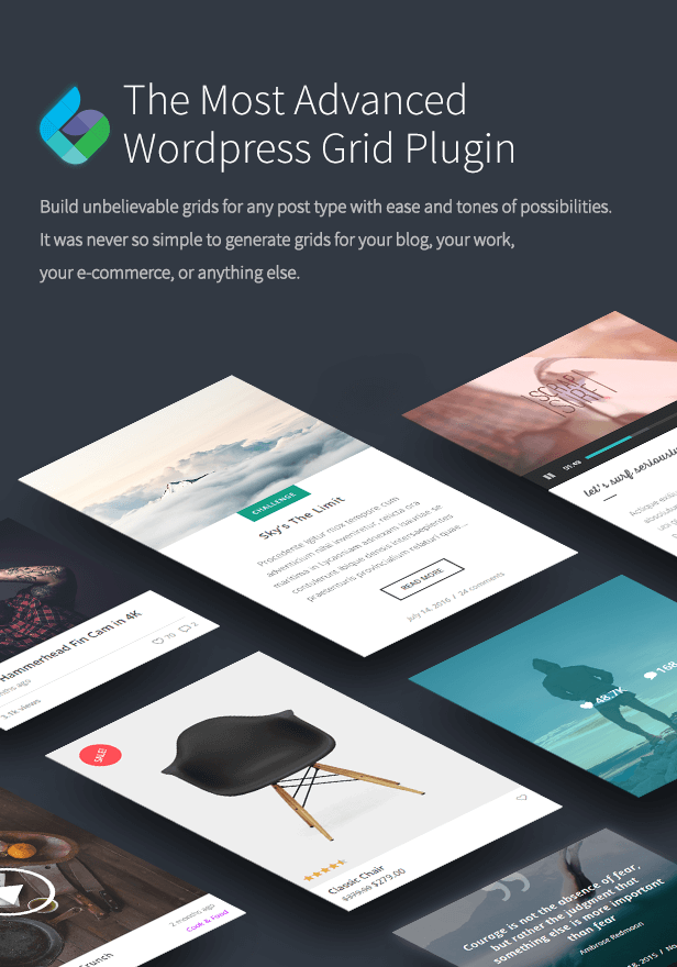 The Grid - Responsive WordPress Grid Plugin 3