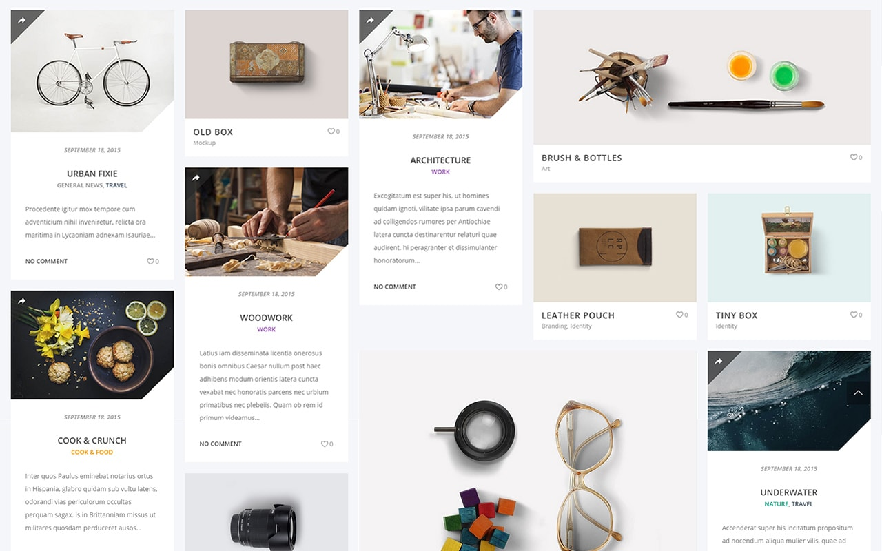 the grid wordpress plugin content